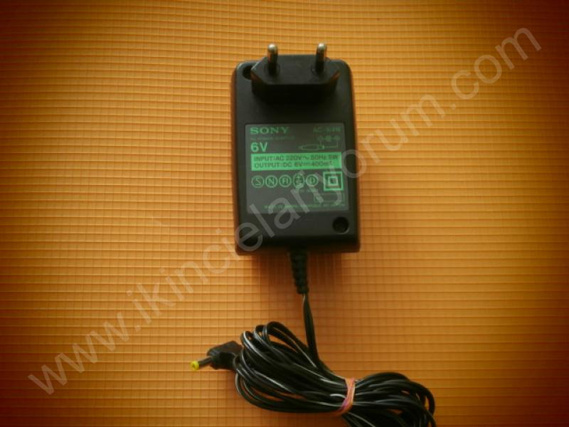 Sony AC-64N 6V 400 Mah AC Power Adaptor