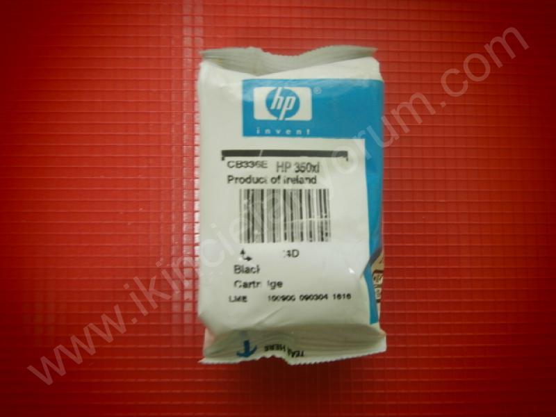 HP 350XL SİYAH RENK YAZICI KARTUŞU
