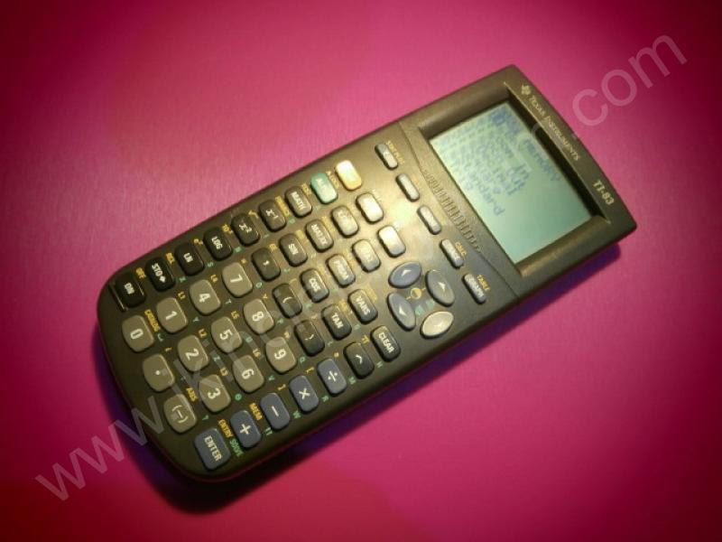 Texas Instruments TI-83 Bilimsel Hesap Makinası
