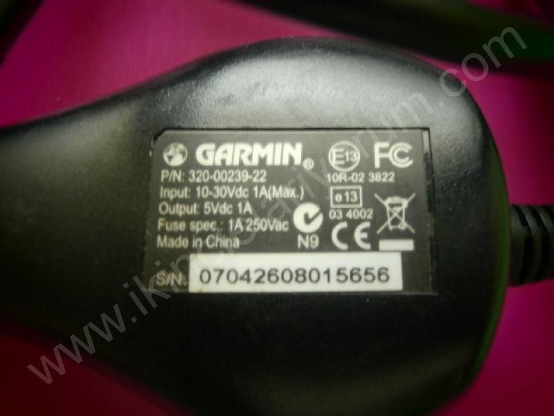 GARMIN 320-00239-22 NAVİGASYON ARAÇ ŞARZ CİHAZI 5V 1A