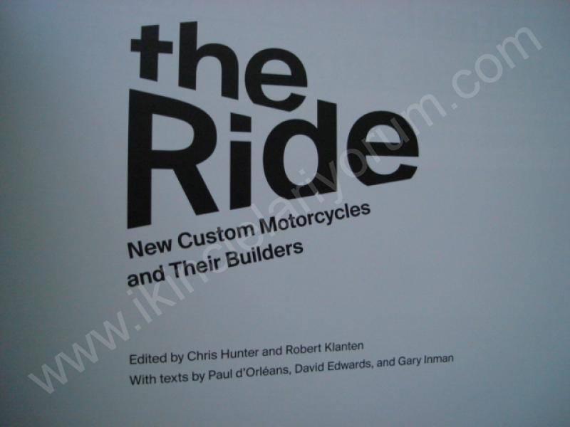 GESTALTEN THE RIDE CUSTOM MOTORCYCLES THEIR BUILDERS