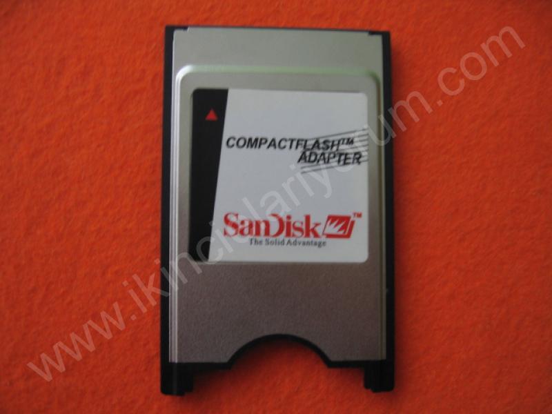 SANDISK COMPACTFLASH PCMCIA DÖNÜŞÜM APARATI
