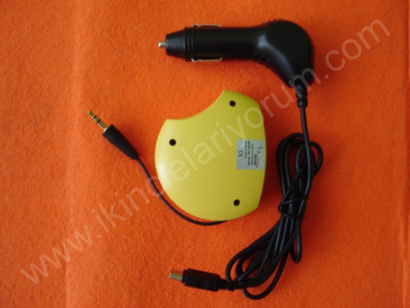 FM TRANSMITTER USB AUX MODULATOR MAJE MT-802