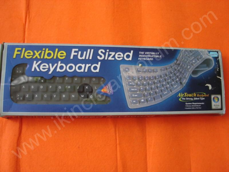 TECOM ESNEK KLAVYE-FLEXIBLE KEYBOARD FULL SIZED