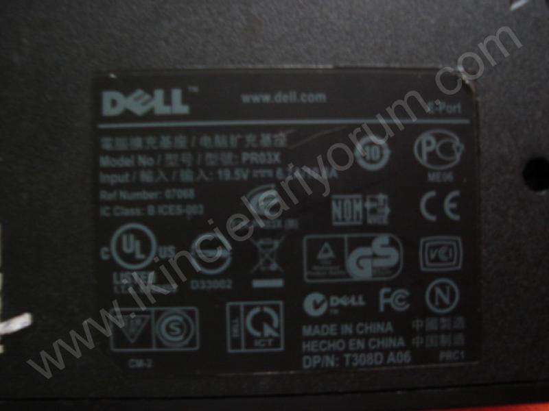 DELL PRO3X DOCK İSTASYONU-PORT REPLICATOR