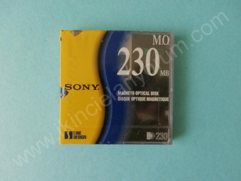 SONY EDM-230C M.O. MAGNETO OPTICAL DISC 230 MB