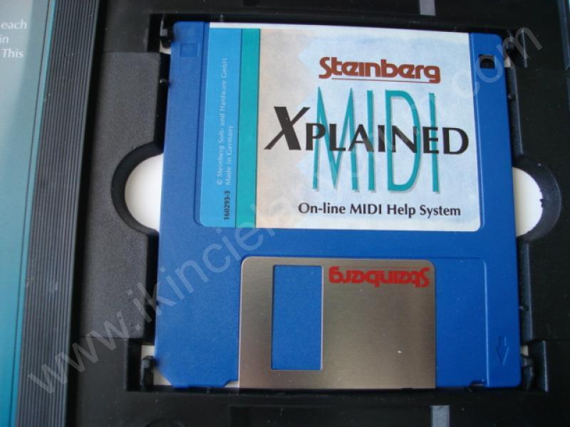 ROLAND S-760 SOUND DISKET