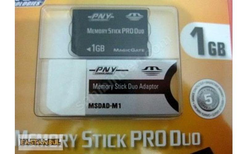 SONY 1 GB MEMORY STICK PRO DUO PNY MSDAD-M1