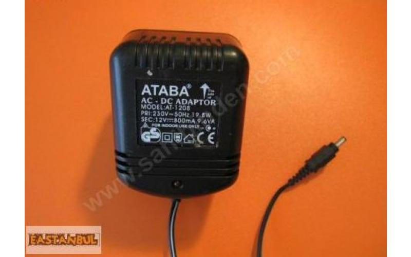ATABA AT-1208 AC-DC ADAPTÖR 12V-800mAH