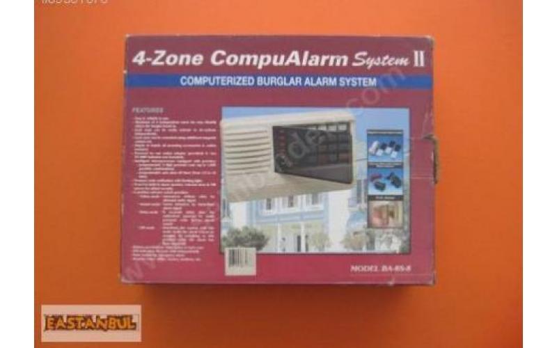 HIRSIZ ALARM SİSTEMİ 4-ZONE COMPUALARM SYSTEM II
