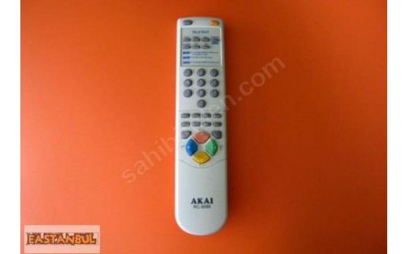AKAI RC-0095 TELETEXT TV UZAKTAN KUMANDASI