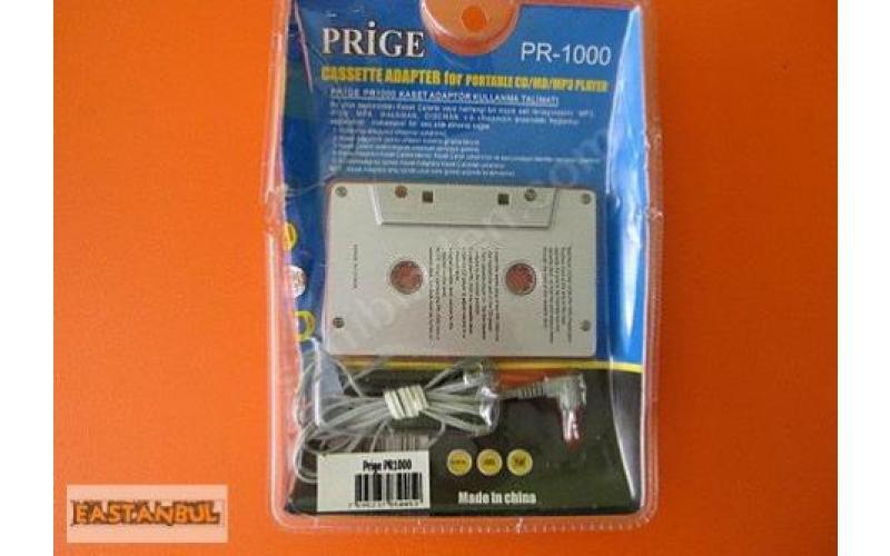 PRIGE PR-1000 CD-MD-MP3 KASET ADAPTÖRÜ 2.5 mm JAK