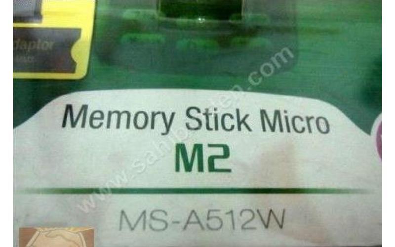 SONY 512 Mb MS-A512A MEMORY STICK MICRO M2 HAFIZA KARTI